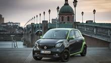 Smart Forfour Electric Drive - für die City allemal flott genug