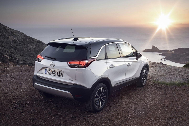 Opel Crossland X - das Dach ist in drei Lackierungen zu bekommen