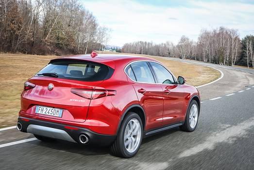 Alfa Romeo Stelvio Q4 - auch von hinten sehenswert