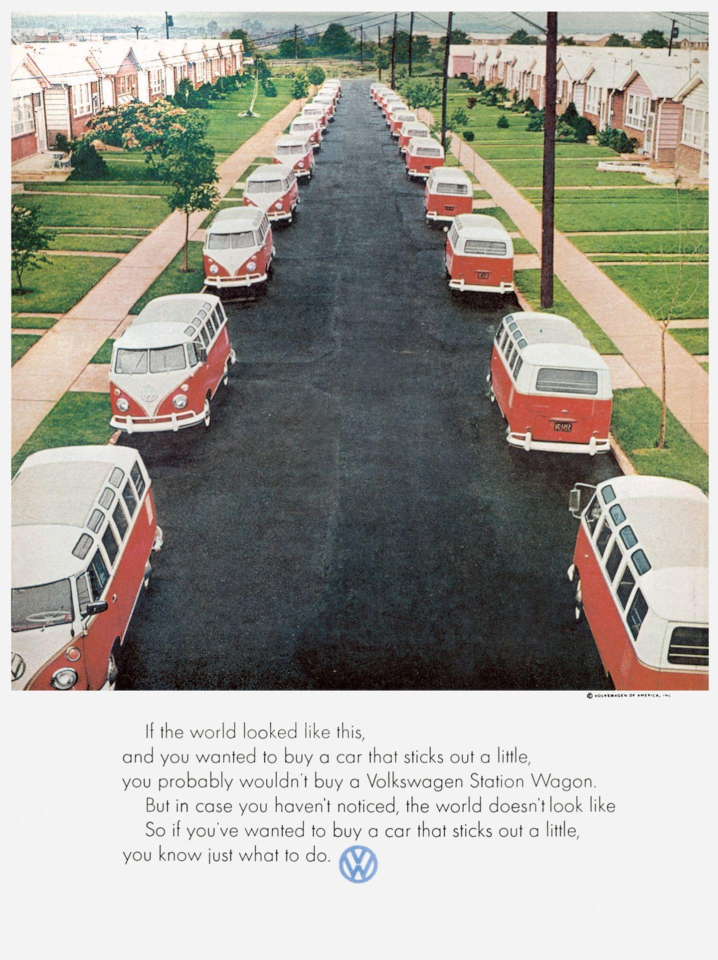 Werbung Volkswagen 1969