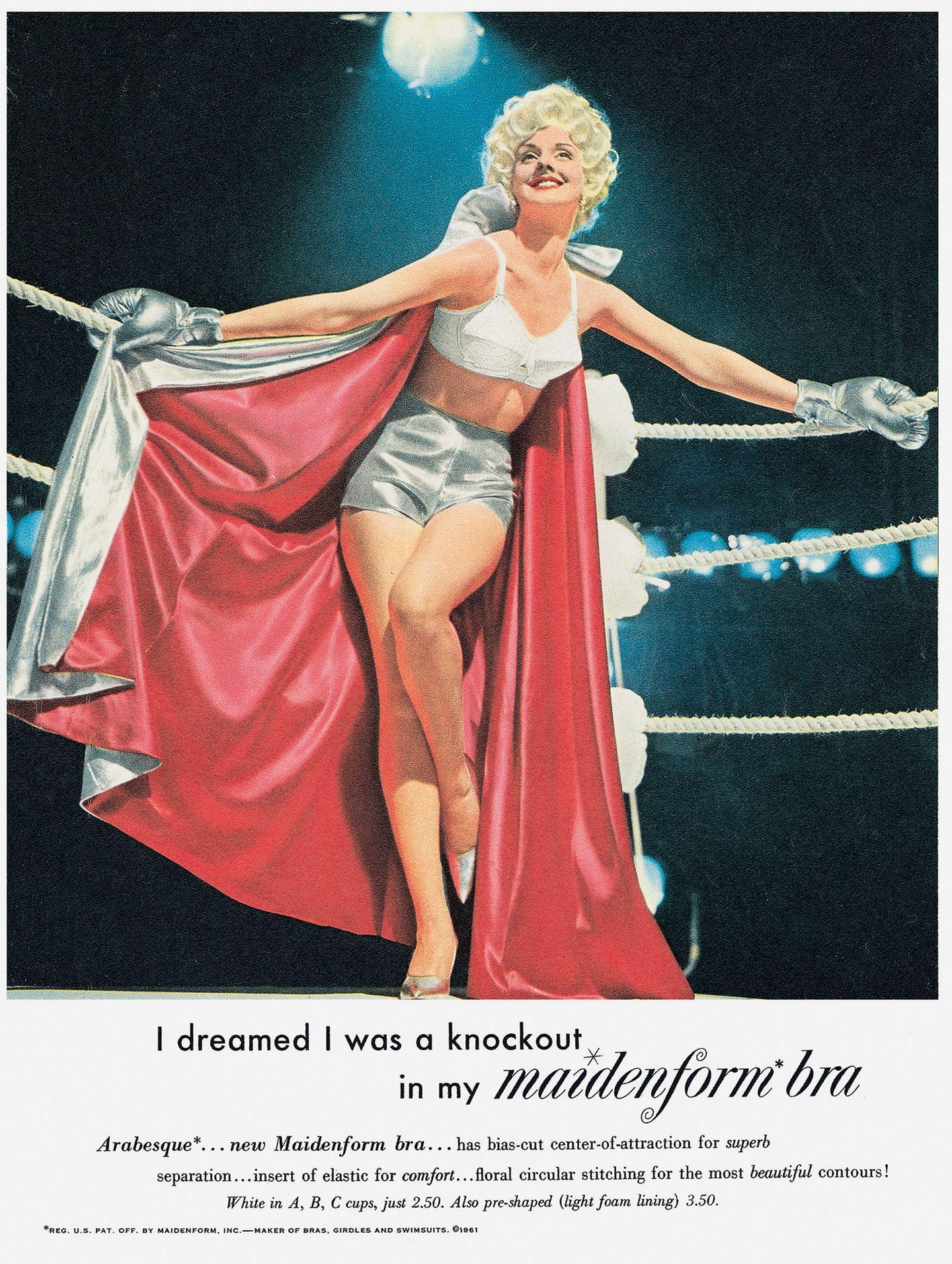 Werbung Maidenform 1961