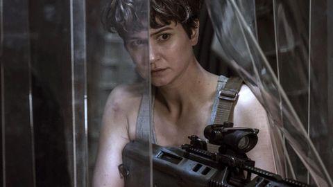 """Katherine Waterston in einer Szene aus """"Alien: Covenant"""""""