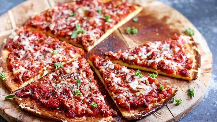 Fastenzeit Pizza
