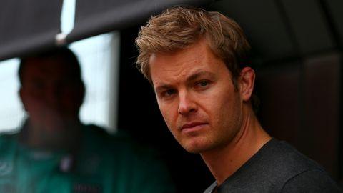 Formel-1-Weltmeister Nico Rosberg war bei den Testfahrten in Barcelona nur Beobachter