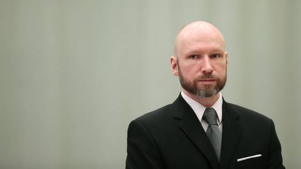In Gefängnis im südnorwegischen Skien stehen Anders Behring Breivik drei Räume zur Verfügung