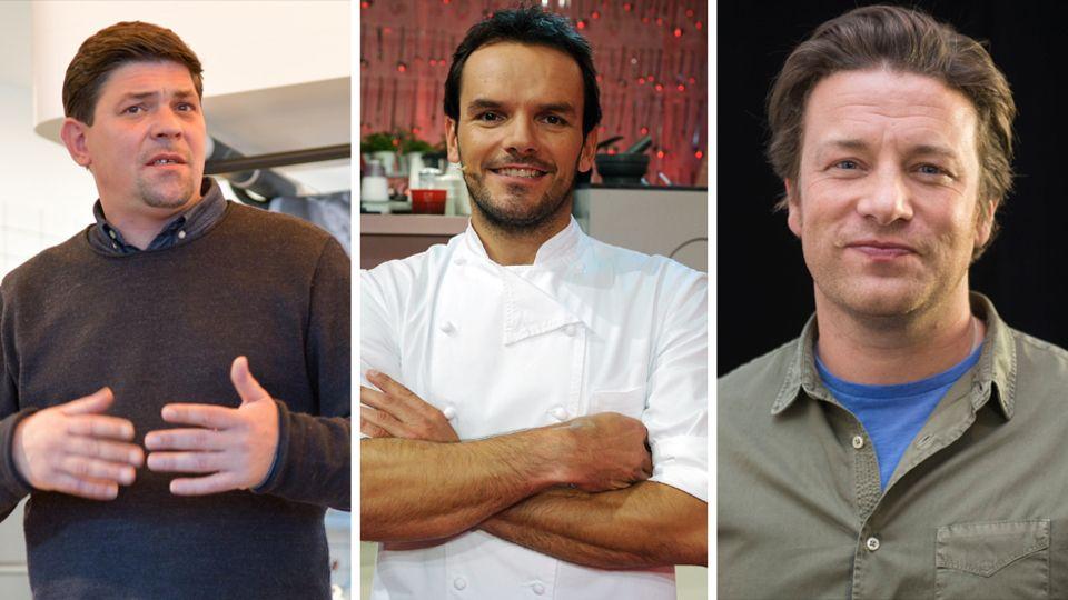 Tim Mälzer, Steffen Henssler und Jamie Oliver haben auch Fans, die sich für mehr interessieren als nur für ihre Kochkünste.