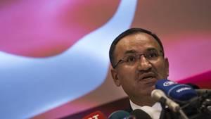 Türkei-Justizminister Bekir Bozdag - Wahlkampf-Auftritt zugunsten von Recep Tayyip Erdogan ist abgesagt