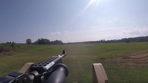 USA Militär Humvee Maschinengewehr