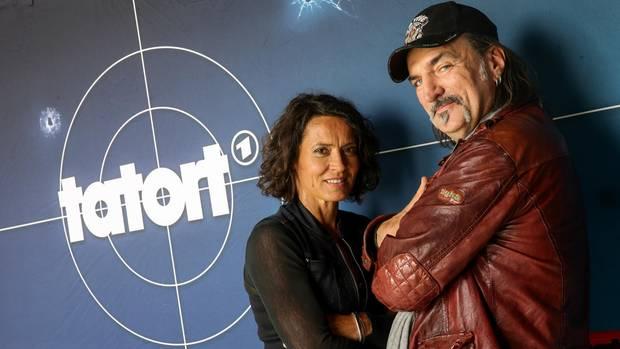 "Andreas Hoppe und Ulrike Folkerts aus dem Ludwigshafener ""Tatort"""