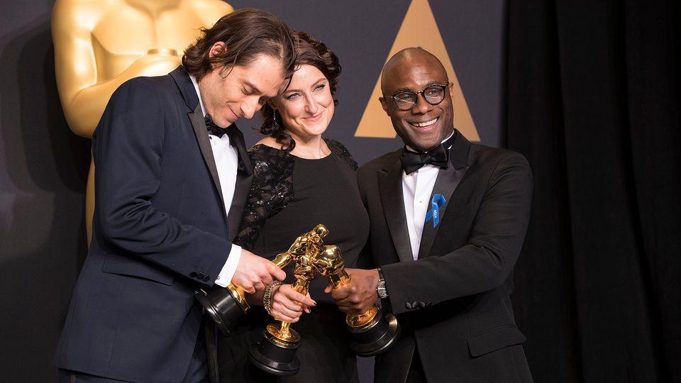 """Endlich vereint: Das Team von """"Moonlight"""" und die Oscars"""