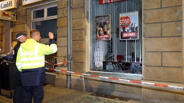 Anschlag auf Parteibüro: Die Gewaltspirale dreht sich immer weiter