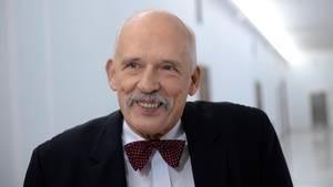 Der 74-jährige polnische EU-Politiker Janusz Korwin-Mikke