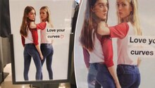 Das Werbeplakat von Zara, das kurvige Frauen ansprechen soll