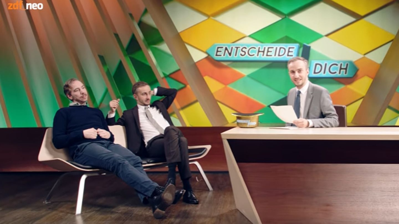 Jan Böhmermann interviewt sich und Olli Schulz