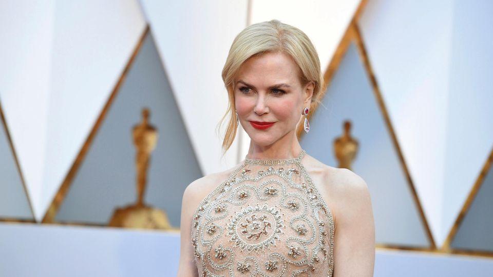 Nicole Kidmann auf dem roten Teppich