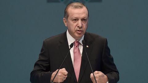 """Der türkische Präsident Recep Tayyip Erdogan hat dendeutsch-türkischen Journalisten Deniz Yücel der""""Spionage"""" bezichtigt"""