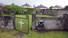 Das Heim in Tuam, Irland wurde von 1925 bis 1961 von der katholischen Kirche betrieben