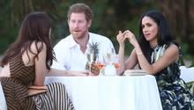 Prinz Harry und Meghan Markle als Gäste bei Hochzeitsfeier auf Jamaica