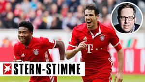 Lachende Bayern und die Langeweile in der Bundesliga: Das wird sich in Zukunft eher verstärken, meint Philipp Köstern.