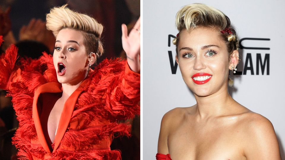 Katy Perry oder Miley Cyrus?