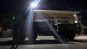Das US-Militär hat bereits die ersten Einheiten eines Raketenabwehrsystems in Südkorea stationiert