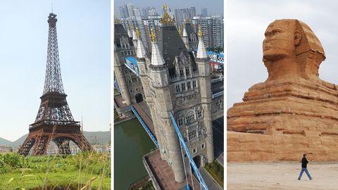 Touristen-Highlights als Double: Alles nur geklaut: Wie China sich die Welt nachbaut