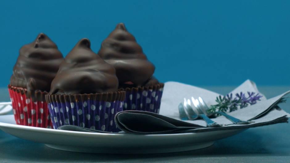 Schaumkuss-Cupcakes: Kann denn Kombinieren Sünde sein?