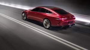 Mercedes AMG GT Concept - technisch eng mit dem neuen Mercedes CLE verwandt