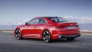 Audi RS5 - das Design ist zurückhaltend