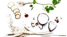 Die Zutaten der Frikadelle sind unter Anderem Weizne, Kokosöl, Kartoffel-Protein und Hefebasiertes Hämoglobin.