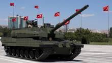 Ein Prototyp des türkischen Kampfpanzers Altay: Rheinmetall will beim Bau dabei sein