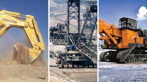 Maschinen der Superlative: Die zehn größten, schwersten und mächtigsten Bagger der Welt