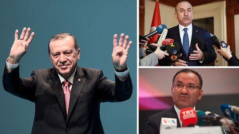 Recep Tayip Erdogan und seine Minister: Warum lassen wir sie nicht einfach reden?