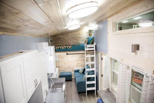 Tiny House The Goose Ist Luxurios Komfortabel Und Klein Stern De