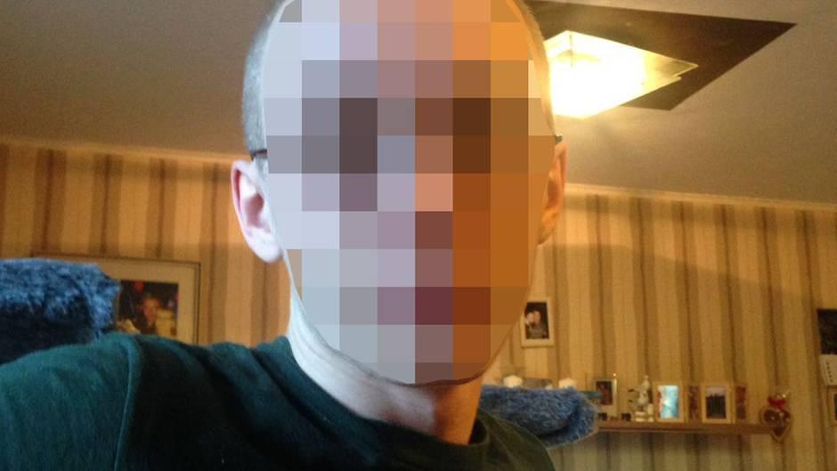 Der 19-Jährige Marcel H. aus Herne ist rund 1,75 Meter groß und schmächtig
