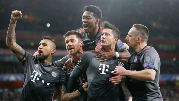 Champions League Bayern Arsenal