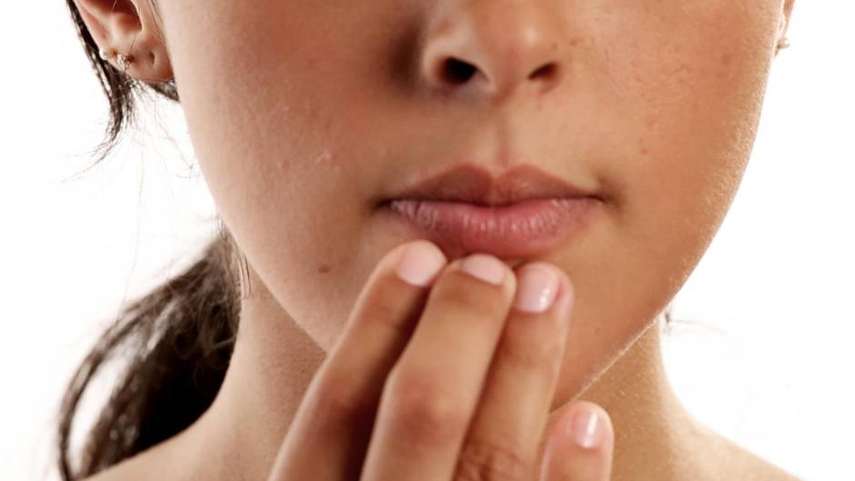 Nahaufnahme Lippen