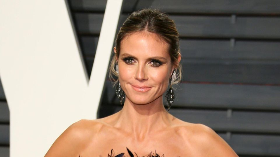 "Heidi Klum auf der ""Vanity Fair""-Oscar-Party"