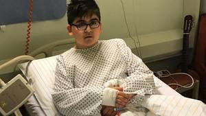 Oguzhan Yavuztürk lebte zehn Monate im Herzzentrum Berlin und wartete darauf, passende Spenderorgane zu erhalten.