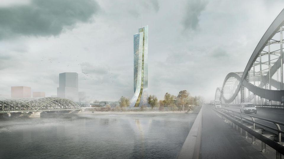 Elbtower in der Hafencity