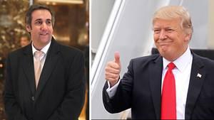 Michael Cohen und Donald Trump