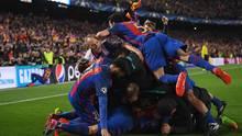 Nicht nur auf dem Platz gab es nach Barcelonas Last-Minute-Sieg viele Emotionen