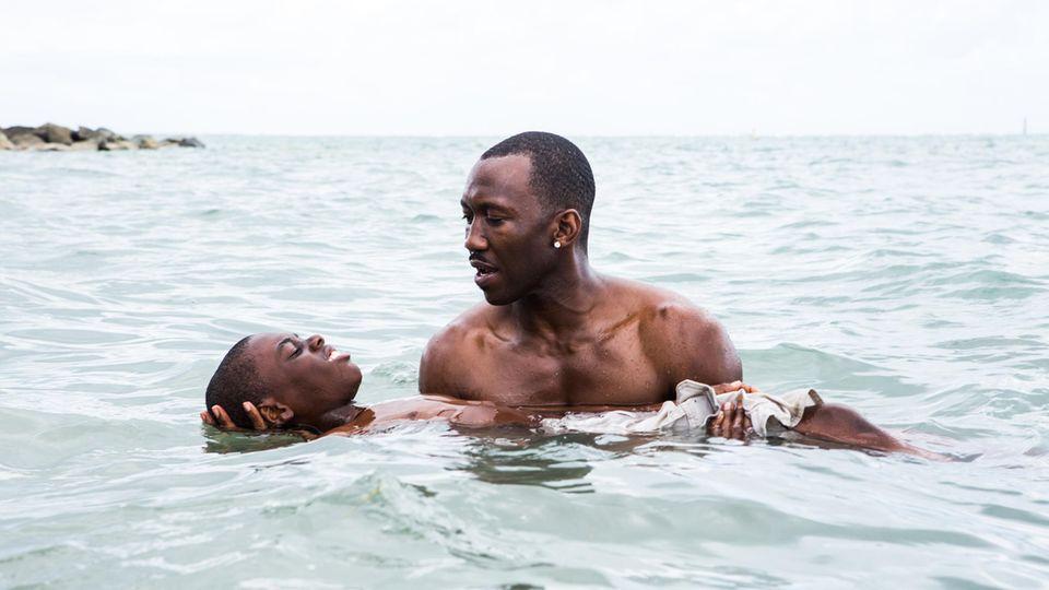"Szene aus dem Oscar prämierten Film ""Moonlight"""