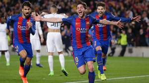 Der FC Barcelona gewinnt gegen Paris St. Germain