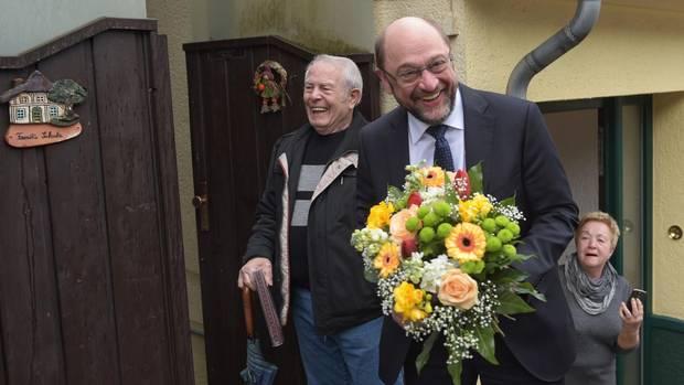 Martin Schulz besucht im Rahmen seiner Wahlkampftour das Saarland.