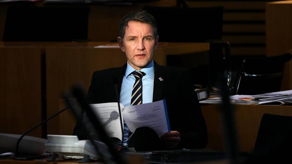 Björn Höcke droht wegen der Verharmlosung von Adolf Hitler ein Entzug seiner Parteirechte
