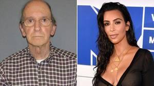 Carl Puia, links, und Kim Kardashian