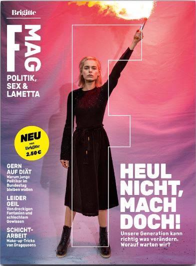 Das F Mag ist seit dem 8. März am Kiosk erhältlich.