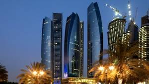 Die Skyline von Abu Dhabi: In den Vereinigten Arabischen Emiraten ist außerehelicher Sex verboten