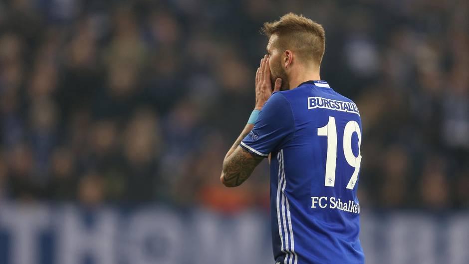 Schalke Gladbach Burgstaller
